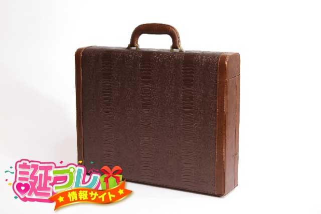 男性用の鞄の画像