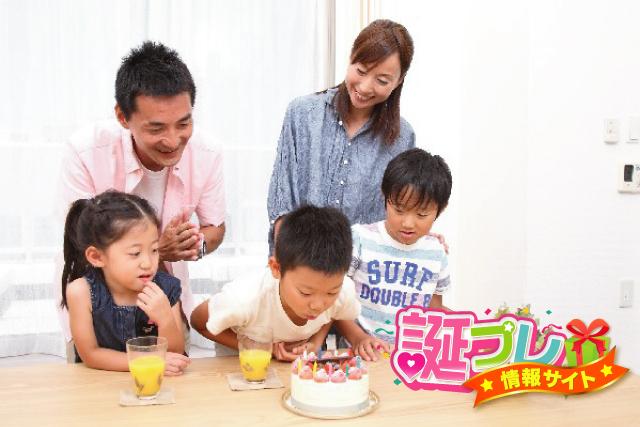 甥と姪の誕生日の画像