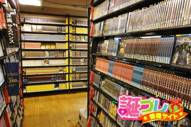 TSUTAYAの店内の画像