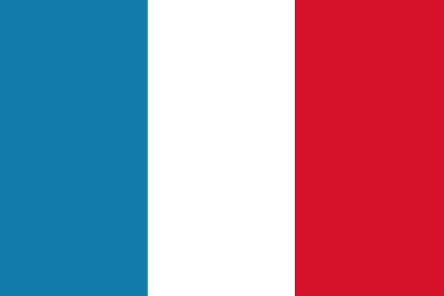 フランスの国旗の画像