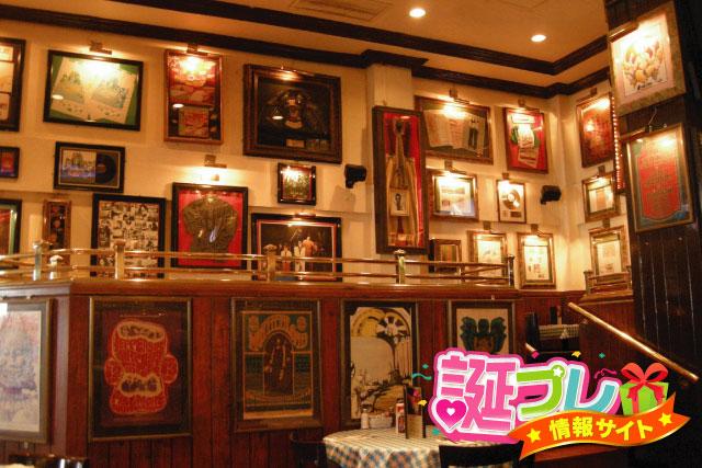 ハードロックカフェの壁の画像
