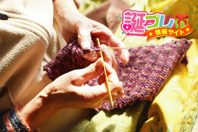 編み物の画像