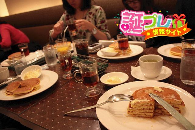 ロイヤルホストのパンケーキの画像