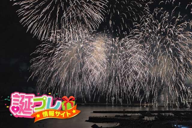 熱海の花火の画像