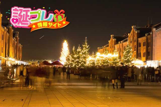 赤レンガ倉庫のクリスマスの画像